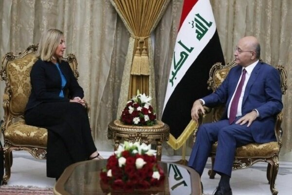 Details of Mogherini's trip to Baghdad: Iraq's clear messages about Iran