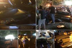 راننده پراید مردم را در چشمه اعلاء زیر گرفت