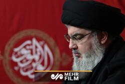 """حديث السيد """"حسن نصر الله """"عن قدرة إيران العسكرية"""