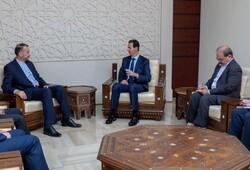 Iran, Syria discuss strategic ties in Damascus