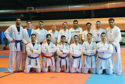 Iran's Karate team leaves Tehran for Tashkent