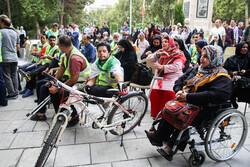 """مهرجان الدراجات الهوائية """"للمعاقين"""" /صور"""