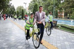 همایش دوچرخه سواری معلولین