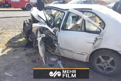 ایران میں  ٹریفک کے 2 حادثات میں 18 افراد جاں بحق