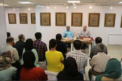 نمایشگاه «جرعه عشق» در نگارخانه مهر قزوین دایر شد