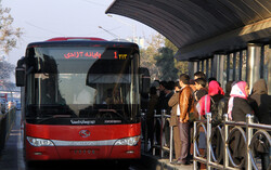 Tehran bus fleet equipped with 500 CNG tanks