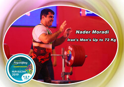 Iran's Moradi wins silver at World Para Powerlifting Championships