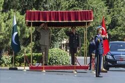 دیدار فرماندهان ارتشهای ترکیه و پاکستان