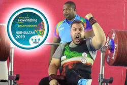 Iran's Rostami takes gold at World Para Powerlifting C'ships