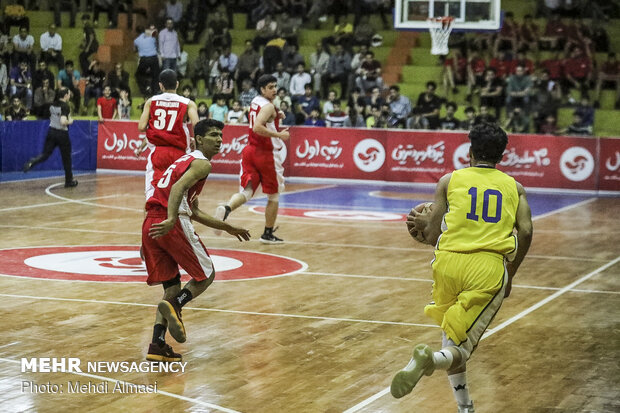 Intl. basketball competitions underway in Zanjan
