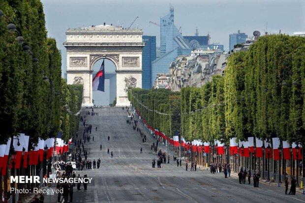 مراسم روز ملی فرانسه