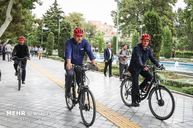 Tehran joins World Car-Free Day campaign