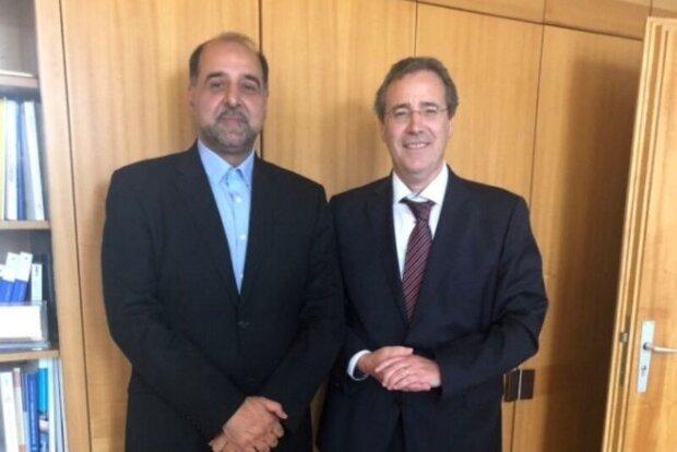 Iran amb., German official discuss INSTEX in Berlin