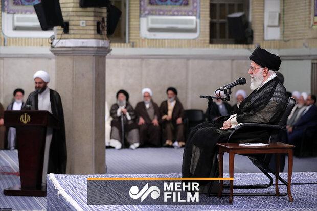 رہبر معظم انقلاب اسلامی کا برطانیہ کو شرارت اور ڈکیتی پر انتباہ