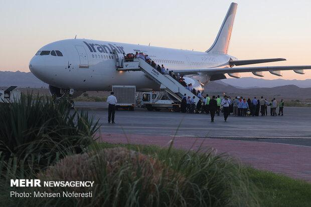اولین کاروان زائران استان بوشهر به سرزمین وحی پرواز کرد