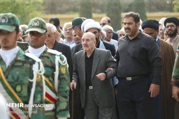 تشییع پیکر مرحوم امیر سرتیپ احمد ترکان در اصفهان