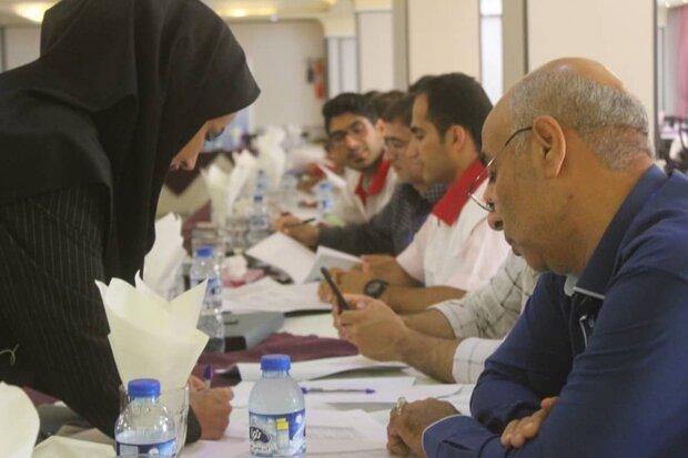 دوره آموزشی بهداشت روان و محیط سوانح در استان سمنان برگزار شد