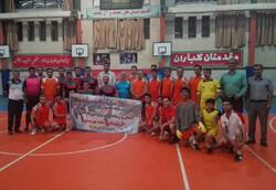 دیدار فوتسال رسانه ورزش و کارکنان بهزیستی کردستان برگزار شد