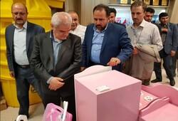 بازدید معاون وزیر صنعت از نمایشگاه دستاوردهای صنایع کوچک قزوین