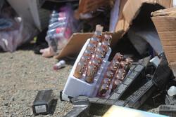 کشف بیش از ۴ هزار قلم لوازم بهداشتی غیرمجاز در اشتهارد