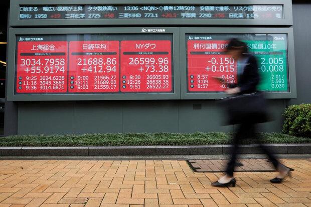 سهام آسیایی با تشدید نگرانی از رکود اقتصادی آمریکا افت کرد