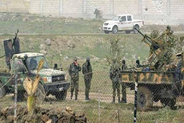 زخمی شدن ۴ نظامی سوری بر اثر انفجار بمب در حومه غربی درعا