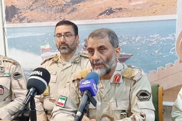 جلوگیری از ورود ۲۲ تن مواد مخدر از مرزهای شرقی ایران