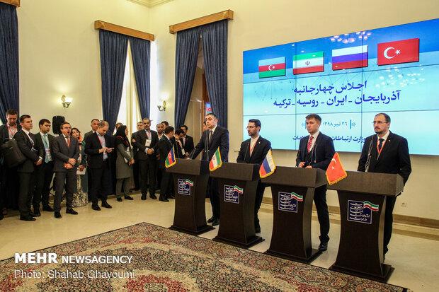 اجلاس وزيران ارتباطات ايران، ترکيه، روسيه و جمهوري آذربايجان