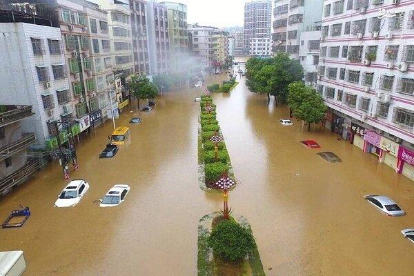 """خسائر في """"الصين"""" بسبب السيول"""