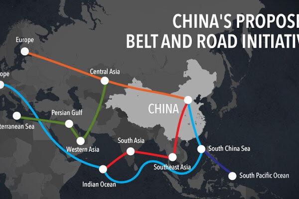 تجارت در جاده ابریشم جدید چین به بیش از ۶۰۰ میلیارد دلار رسید