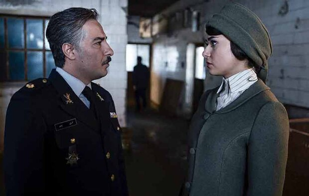"Navid Mohammadzadeh (L) and Parinaz Izadyar act in scene from ""The Warden""."