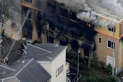 جاپان اینی میشن کمپنی میں آتش زنی سے ہلاکتوں کی تعداد  33 تک پہنچ گئی