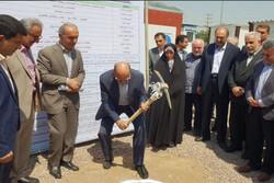 عملیات احداث ساختمان شماره ۳ تامین اجتماعی در قزوین آغاز شد
