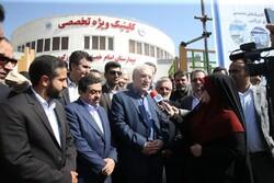 افتتاح پروژه های بهداشتی و درمانی شهرستان فیروز کوه
