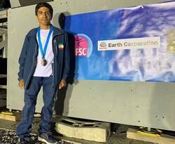 Iran's Khalaji wins IFSC Paraclimbing World Championships