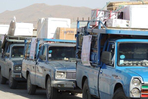 اهدای۶۲۰سری جهیزیه دراجرای برنامه های کنگره ملی امام وشهدای مرکزی