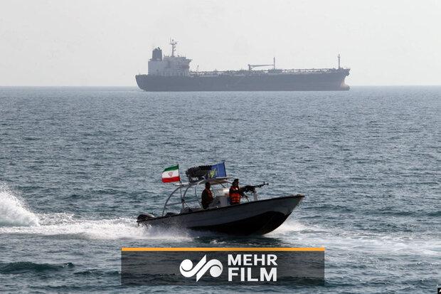 توقیف یک کشتی خارجی حامل یک میلیون لیتر سوخت قاچاق توسط سپاه