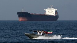 IRGC in Hormuz Strait and Persian Gulf