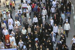 همایش بزرگ پیاده روی خانوادگی عاشورائیان در خورموج برگزار شد