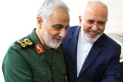 Zarif says world owes Qassem Soleimani