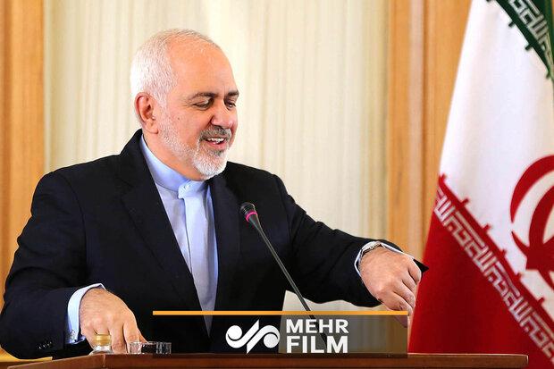 ایرانی وزیر خارجہ کا امریکی صدر کے دعوی پر رد عمل