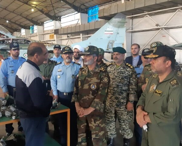 امیرموسوی از قابلیتهای تاکتیکی پایگاه هوایی شهیدفکوری بازدید کرد