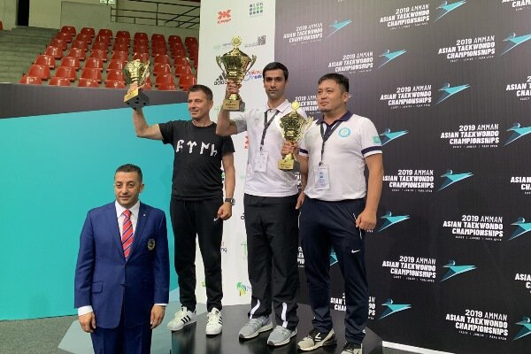 Iran para-taekwondo team wins Asia's c'ships