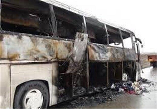 در تصادف محور کاشان -قم یک نفر کشته و ۲۵ نفر مصدوم شدند