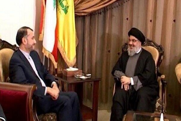 Hassan Nasrallah thanks Iran's Leader for help in stabilizing region