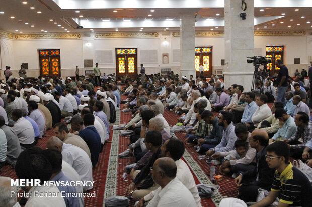 نماز جمعه بندر عباس به امامت حجت الاسلام و المسلمین محمد عبادی زاده