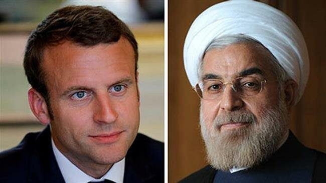 Iran determined to keep all paths to saving JCPOA open, Rouhani tells Macron