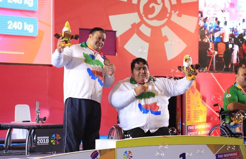 Siamand Rahman takes gold at World Para Powerlifting Championships