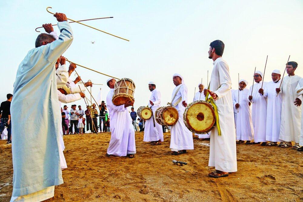 Noruz-e Sayyad celebrated in Qeshm Island