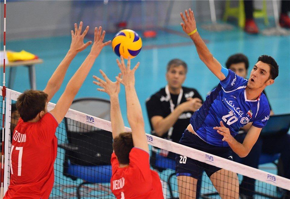Iran fall short against Russia at FIVB U21 World Championship